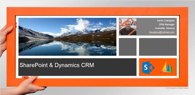 Dynamics CRM & SharePoint